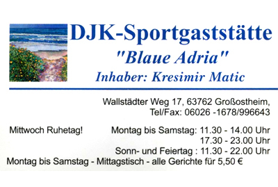 Firma In Grossostheim Biergarten